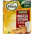 Galleta María dorada al horno 600 g Flora