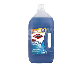 Oro Detergente líquido Gel Azul basic 4 l