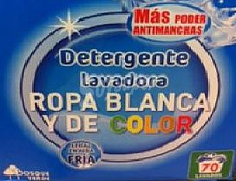 Bosque Verde Detergente lavadora polvo ropa blanca y color Paquete 5460 g