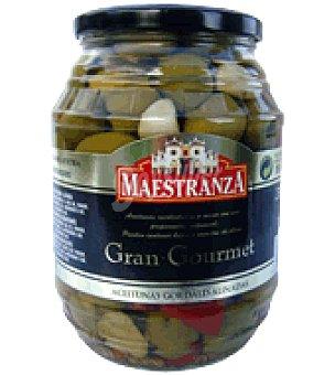 Maestranza Aceitunas gordales verdes aliñadas 600 g