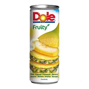 Dole Fruity de piña y plátano 25 cl