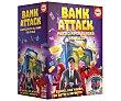Juego de mesa de estrategia y habilidad Bank Attack, de 2 a 4 jugadores, educa.  Educa
