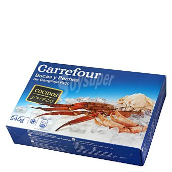 Carrefour Bocas y pechos cocidos 600 g