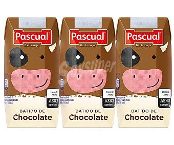 Pascual Batido de chocolate 3 x 200 ml