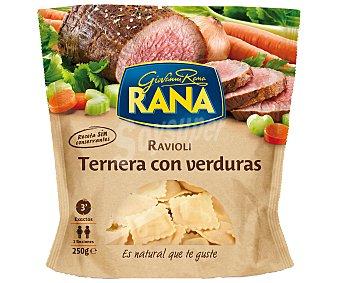 GIOVANNI RANA Ravioli de ternera con verdura Sobre 250 g