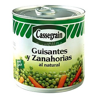 Cassegrain Guisantes y zanahorias natural 265 g