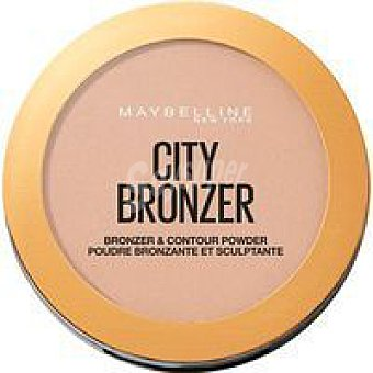 Maybelline New York Polvos bronceadores city bronce 250 oscuro pack 1 ud