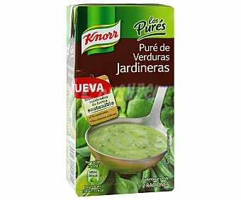 Knorr Pure de verduras jardineras Brick 500 ml