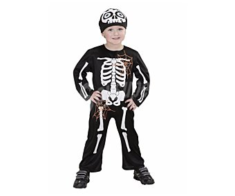 Widmann Disfraz infantil para Halloween Esqueleto, talla 1-2 años Esqueleto 1-2 años