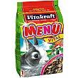 Alimento para conejos enanos  Paquete 1 kg Vitakraft