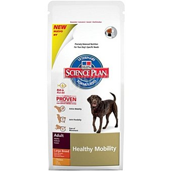 HILL'S SCIENCE PLAN ADULT Large Breed Healthy Mobility Alimento especial con pollo para la movilidad para perro Bolsa 3 kg