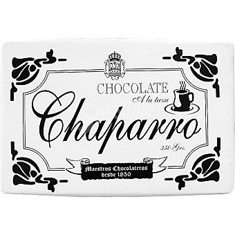Chaparro Chocolate sin leche a la taza Tableta 350 g