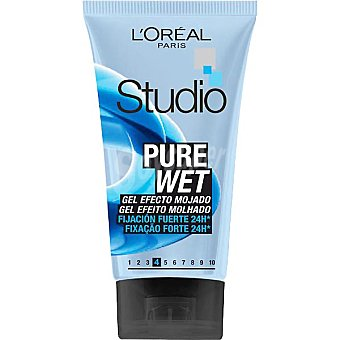 Studio Line L'Oréal Paris gel Pure Wet efecto mojado 24 horas Tubo 150 ml