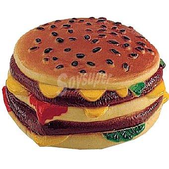 BIOZOO AXIS Juguete de vinilo para perro con forma de hamburguesa 1 unidad