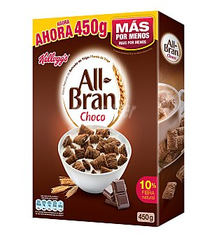 Kellogg's All-Bran de Kellogg's Cereales de Chocolate 375 gr