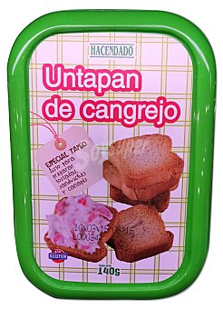 Hacendado Untapan cangrejo refrigerado Tarrina 140 g