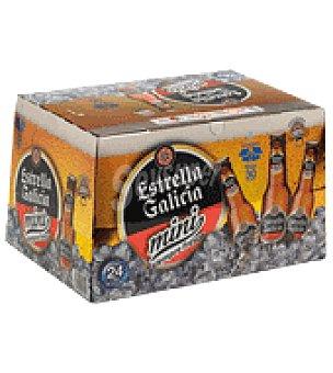 Estrella Galicia Cerveza ice 24 latas de 20 cl