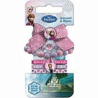 Disney Frozen Pulseras y coleteros Pack 1 unid
