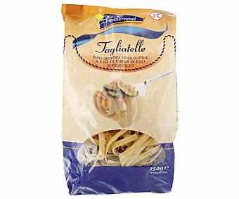 Piaceri mediterranei Tagliatelle (pasta alimenticia con harina de arroz descarrillado) sin gluten 250 gramos