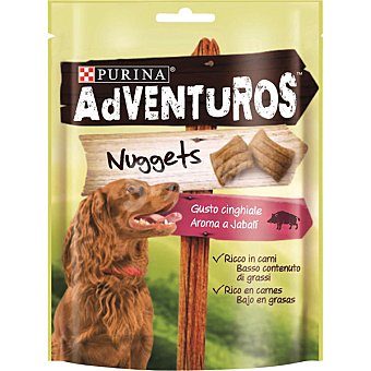 PURINA ADVENTUROS Nuggets para perro con aroma a jabali envase 90 g Envase 90 g