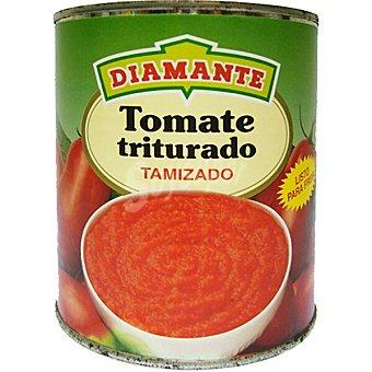 Conservas Diamante tomate al natural triturado tamizado lata 390 g