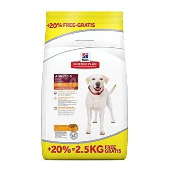 Hill's Science plan adult light pienso especial para perros grandes adultos con pollo Bolsa 14,5 kg