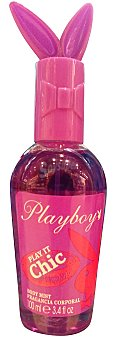 PLAYBOY Body spray fresco mist chic (color morado) Botella de 100 ml