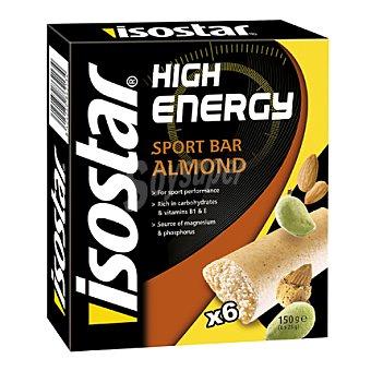 Isostar Barritas energéticas de almendra Pack 3x40 g