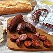 """Chorizo extra picante casero de """"El Bierzo"""" pack 4 ud Envase de 230.0 g. aprox La Encina"""