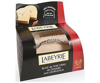 Labeyrie Foie gras de pato con sal y pimiento,, 230 gramos