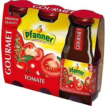 PFANNER GOURMET Zumo de tomate Pack 3 envase 200 ml