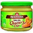 Salsa de queso Frasco 300 g Mexifoods