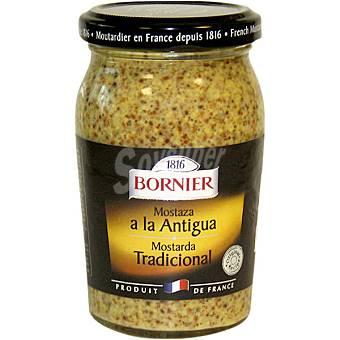 BORNIER Mostaza tradicional a la antigua frasco 210 g Frasco 210 g