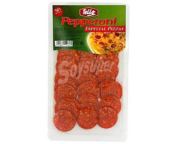Tello Pepperoni Lonchas 75 Gramos
