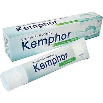 KEMPHOR pasta dentífrica en gel fluorado tubo 75 ml