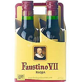 Faustino VII Vino Tinto Rioja Pack 4x18 cl