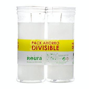 Roura Velote blanco Paquete 2 u