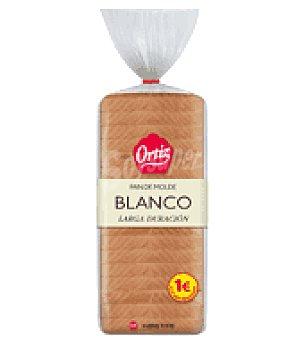 Ortiz Pan de Molde larga vida 20 rebanadas 450 g