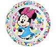 Plato infantil apto para microondas diseño minnie.  Minnie Disney