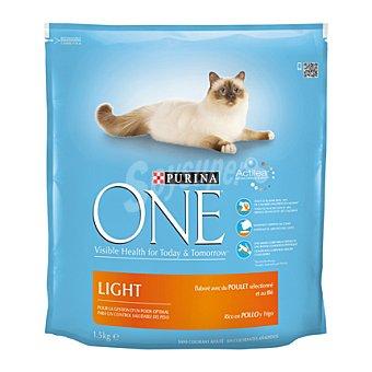 Purina One Comida para gatosg con Pollo 1,5 kg