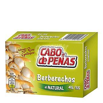 Cabo de Peñas Berberechos al natural elaborados Rías Gallegas 45/55 63 g
