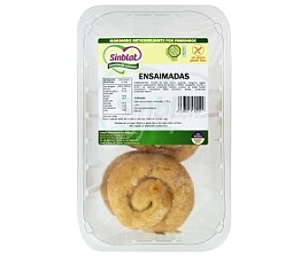 SINBLAT Ensaimadas Sin Gluten 4 Unidades 175 Gramos