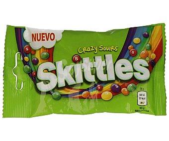 SKITTLES Caramelo blando grajeado de sabores surtidos Bolsa de 38 g