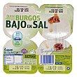 Queso fresco burgos bajo en sal Pack 4 x 62,5 g - 250 g Hacendado