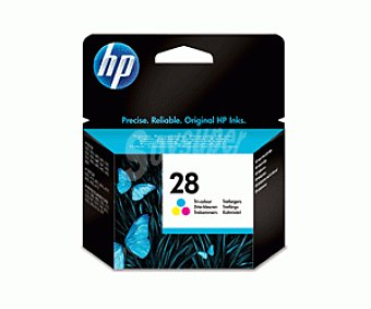 HP Cartuchos de Tinta N28 Color 1 Unidad