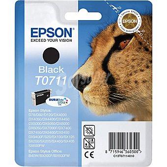 EPSON Stylus T0711 Cartucho de tinta color negro