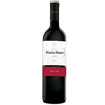 Cuatro Rayas Vino tinto roble tempranillo D.O. Ribera del Duero 75 cl 75 cl