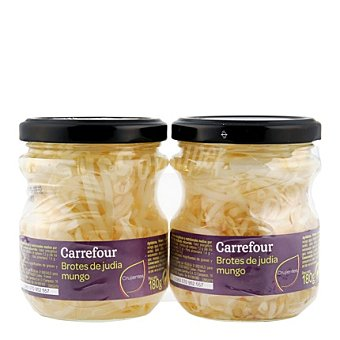 Carrefour Brotes de soja Pack de 2x90 g