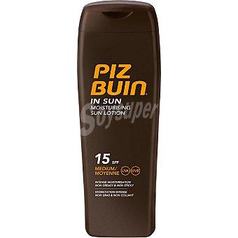 PIZ BUIN In Sun loción solar hidratante FP-15 frasco 200 ml