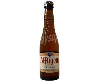 Affligem BLONDE cerveza rubia doble fermentación belga botella 30 cl botella 30 cl